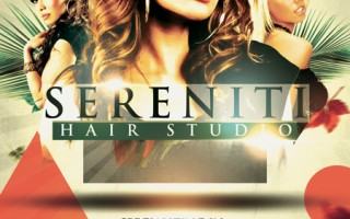 Serenity Hair Studio Advertisement