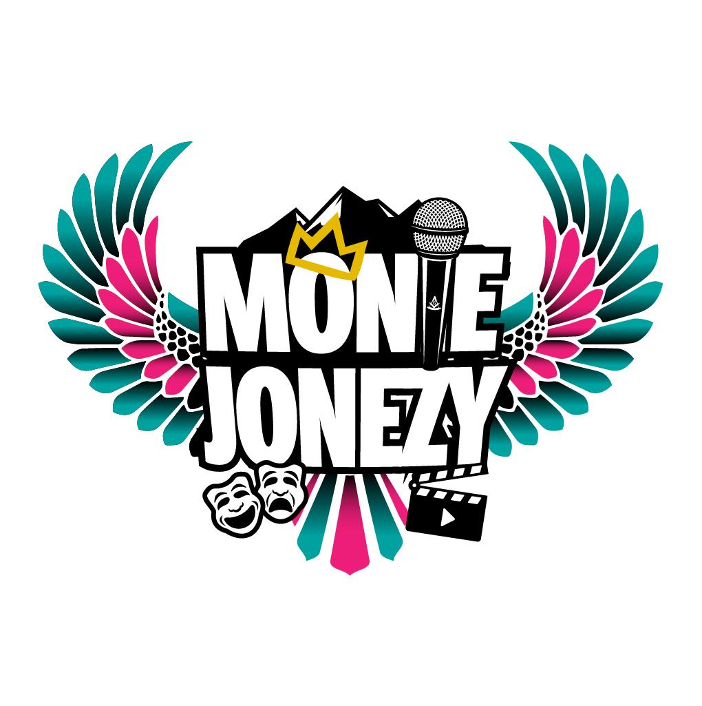 comedian Monie Jonezy logo by www.jermainejude.com